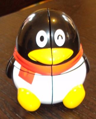 Pingouin: Puzzle d'assez piètre qualité... Pas fonctionnel du tout!
