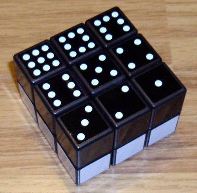 2x3x3 Domino: acheté avec des stickers de couleur vite remplacés par des stickers Cubesmith