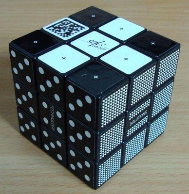 Un cube publicitaire offert par mon frère