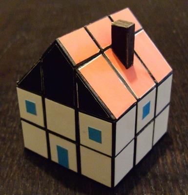 * Maison: Un mod amusant dont j'ai repris l'idée ici: www.speedcubing.com/ton/fun.htm