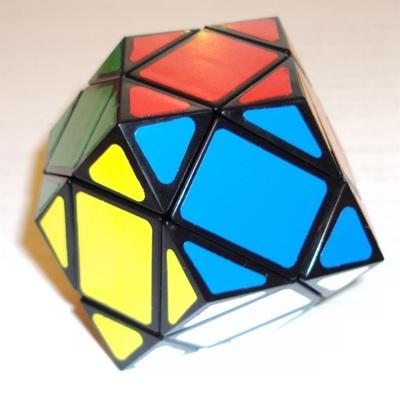 Dodécaèdre rhombique.