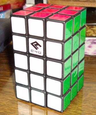 * 3x3x5 fonctionnel: Mon premier mod difficile à réaliser. Je me suis basé sur ces plans pour le construire: http://cubricollage.xooit.com/t33-Tuto-3x3x5-Fully-Fonctionnal.htm Au final, le résultat est fonctionnel mais les deux couronnes 3x3 externes ont un peu trop de jeu à mon goût.