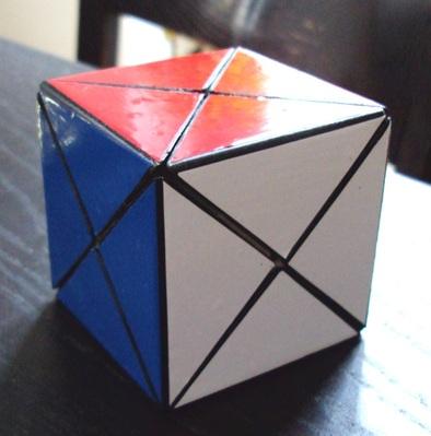 * Dino cube: Fait maison à partir d'un Rainbow cube.
