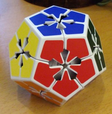 """Flowerminx: C'est un Megaminx """"corners only""""."""