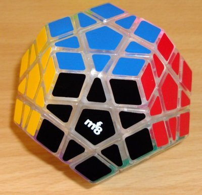 Megaminx MF8 transparent