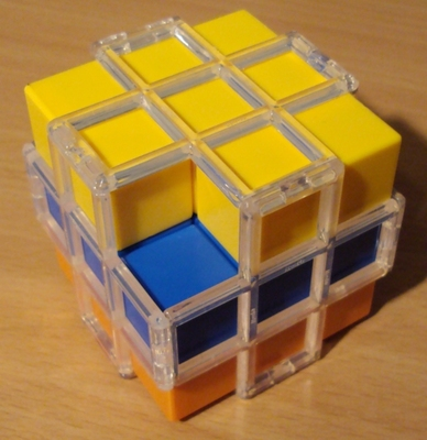 Rainbow 3x3x3 Black Hole Cube