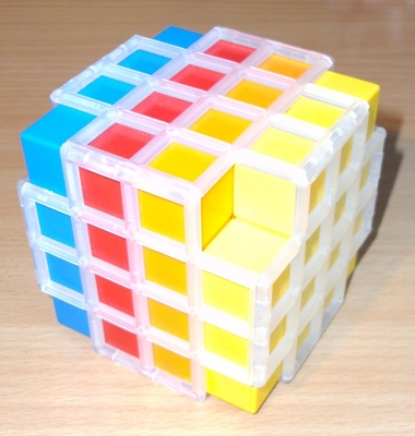Rainbow 4x4x4 Black Hole Cube -- 16/02/13