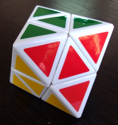 Skewb diamond.