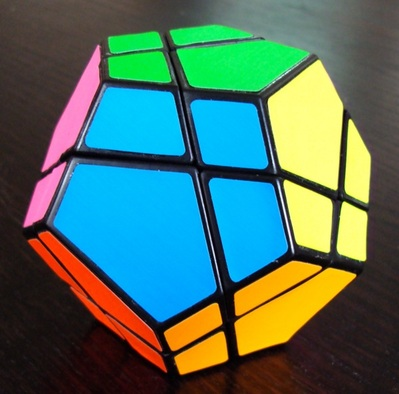 Skewb ultimate.